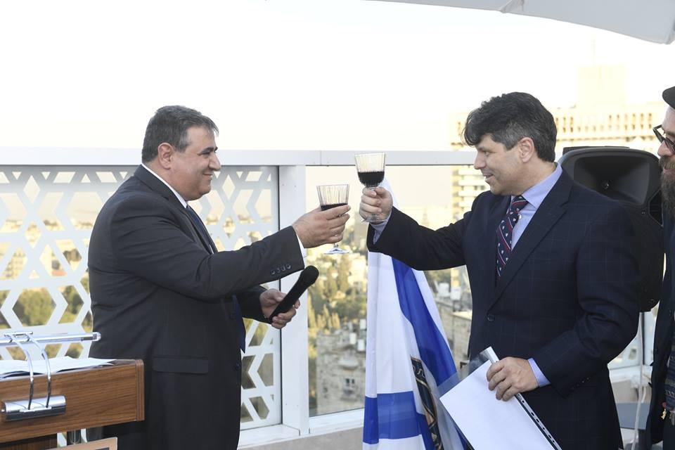 נשיא לשכת המסחר ושגריר קוסטה ריקה