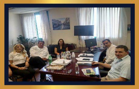 ממשיכים לפעול למען המגזר העסקי – מפגש פורה במשרד ירושלים ומורשת