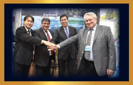 מעמיקים שיתוף פעולה עם הפיליפינים ומקבלים בברכה ב-7 בנובמבר משלחת פיליפינים בירושלים