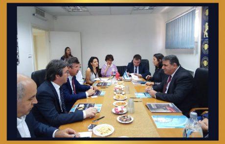 משלחת טורקית בישראל !