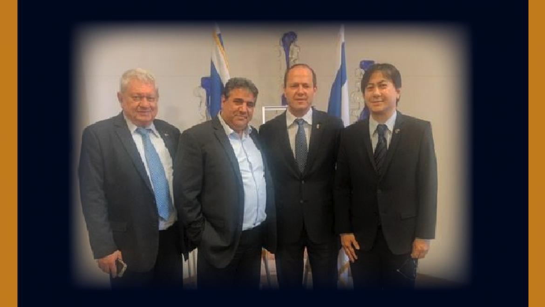 """ראש עירית ירושלים ניר ברקת: """"אנו מברכים על שיתוף הפעולה הפורה שנרקם בין לשכת המסחר ושגרירות הפיליפינים ומצפים להגברת שיתוף הפעולה הדיפלומטי בין ירושלים לפיליפינים"""""""