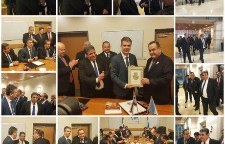 ישראל וגואטמלה מקדמים הסכם סחר משותף !