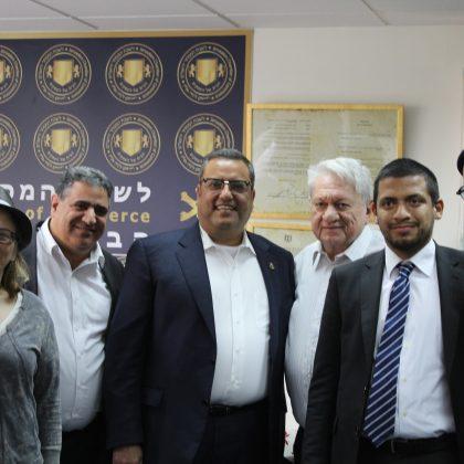 ישיבת הנהלה לקידום העסקים בעיר בשיתוף חבר המועצה משה ליאון