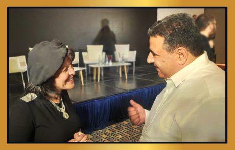 מפגש פורה בין נשיא לשכת המסחר דרור אטרי עם ראשת העיר בית שמש עליזה בלוך!