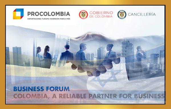 פורום עסקי – ישראל-קולומביה