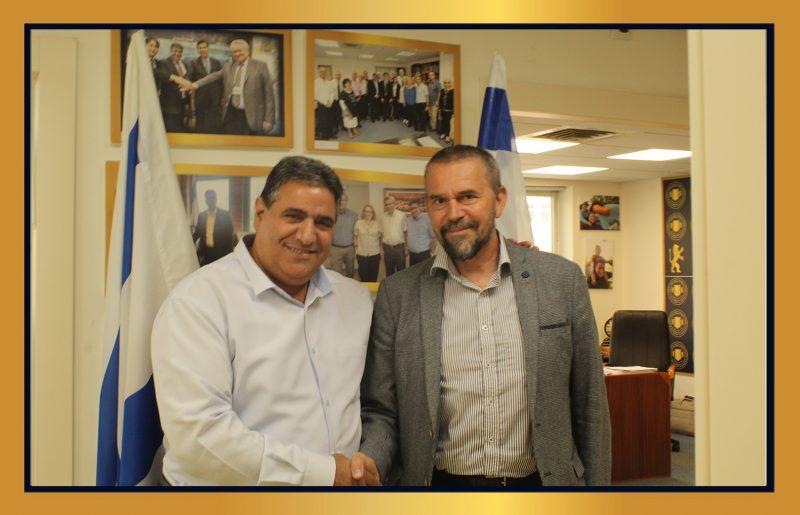 ממשיכים לקדם את הקשרים בין ירושלים לשגרירות הנוצרית לקידום הסחר והזדמנויות עסקיות לחברנו במגזר העסקי