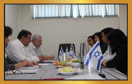 פגישת עבודה – לשכת המסחר שגרירות הפיליפינים ומשרד הסחר הפיליפיני