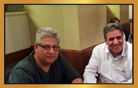 """מפגש פורה בין נשיא לשכת המסחר דרור אטרי ומ""""מ ראש העיר כפר-סבא אורן כהן"""