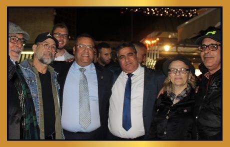 חנוכה שמח לחברנו סוחרי שוק מחנה יהודה ותושבי ישראל!